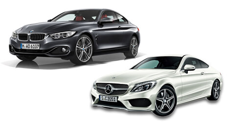 BMW 3 series and MERCEDES C-class